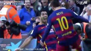 شاهد اهم الاهداف الحاسمة التي توجت برشلونة بلقب الدوري الاسباني2016 تعليق عربي HD