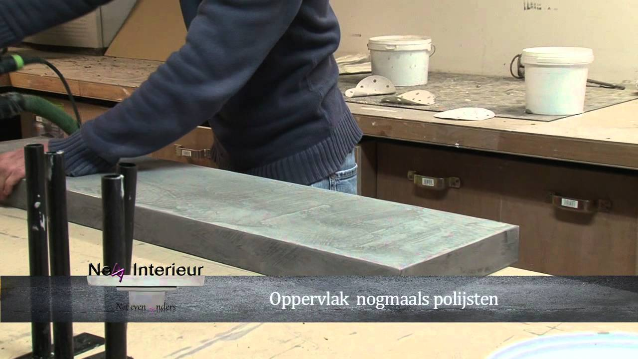 Workshop beton ciré yellostone mov youtube