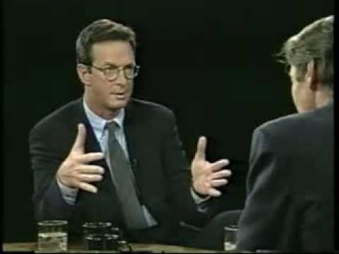 Michael Crichton talks The Lost World w/ Charlie Rose (1995)