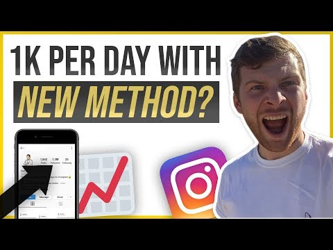 😱How To Grow Followers On Instagram-Growing On Instagram 1,000 Followers In 1 Day 😱