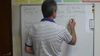 ЕГЭ-2019, ОГЭ-2019. Система двух уравнений с двумя неизвестными  Метод подстановки.