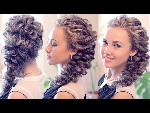 Hairstyle for long hair - Причёска с помощью резинок - Hairstyles by REM