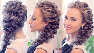 видео Плетение кос фото причесок на выпускной