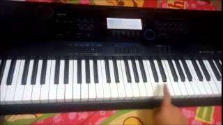 How to play Mere Naseeb Mein (Naseeb) on Piano Tutorial