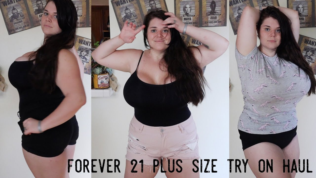f9ff55f1f43 Plus Size Try On Forever 21 Haul - YouTube