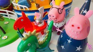 Игрушки из коллекции Свинка Пеппа  Игрушкин ТВ