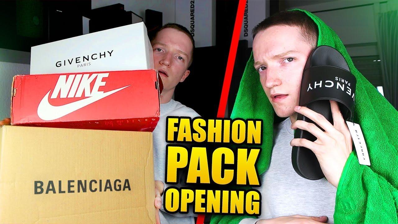 4700€ FASHION PACK OPENING (Balenciaga, Givenchy..)
