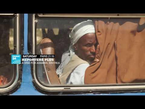 A visa for Asmara, Eritrea