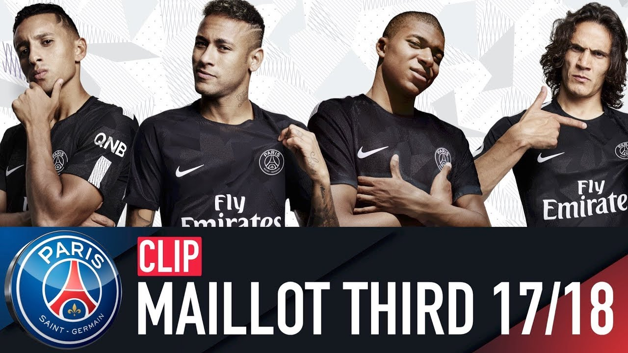Maillot THIRD Paris Saint-Germain NEYMAR JR
