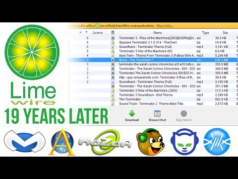 LIMEWIRE In 2019 • Music Era In 2000s (19 Years Later)