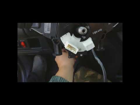 Замена подрулевого шлейфа Nissan Note