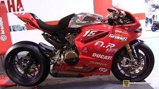 2015 Ducati 1199 Panigale R Brembo - Walkaround - 2014 EICMA Milan Motorcycle Exhibition