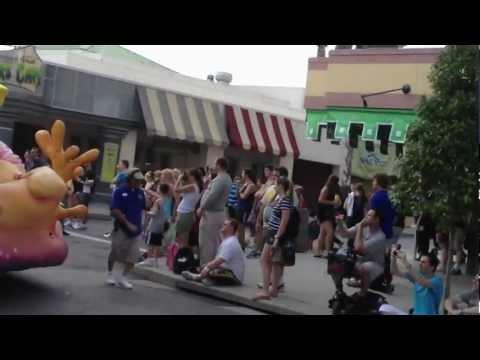Superstar parade Universal Florida