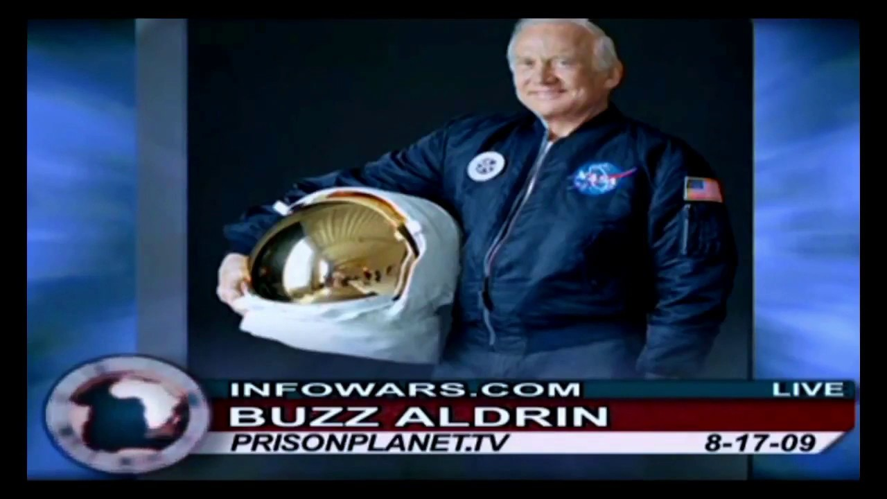 Astronaut Buzz Aldrin SPACE WEAPONS