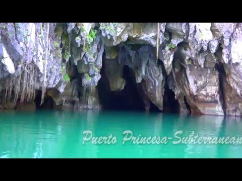 Underground River -Palawan.New 7 Wonders Of The World.Full HD