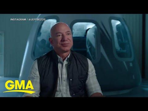 Jeff-Bezos-announces-he-will-go-to-space-l-GMA