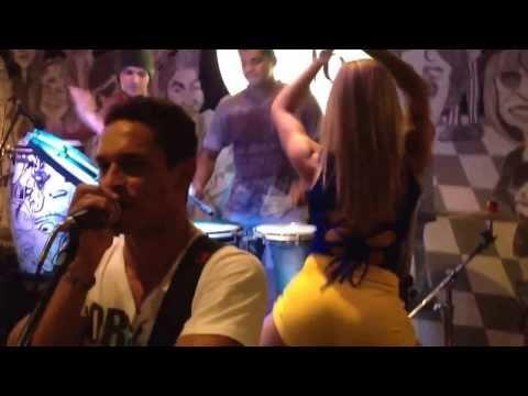 Musa do Carnaval 2013, Aline Mel e QSerá? - Santa Fé Bar