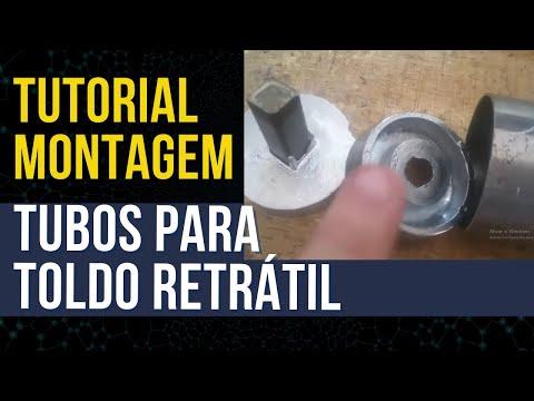 Como Montar Os Tubos Para Toldo Retr Til Engrenagem