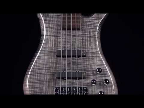 Warwick Custom Shop Masterbuilt - Streamer LX Bleached Nirvana Black Stain High Polish