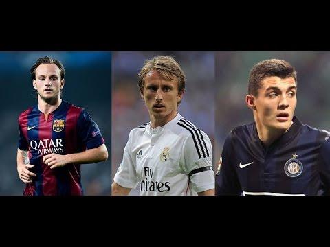 Croatian Midfield    Luka Modric    Ivan Rakitic    Mateo Kovacic    HD   