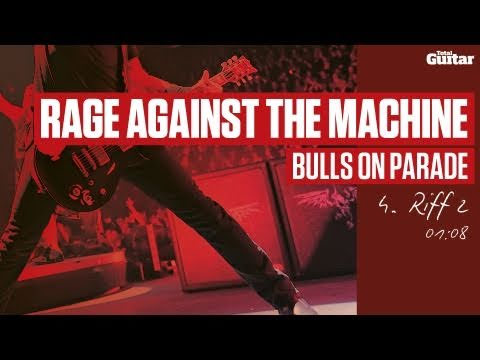 Guitar Lesson: Rage Against The Machine 'Bulls On Parade' -- Part Four -- Riff 2 (TG217)