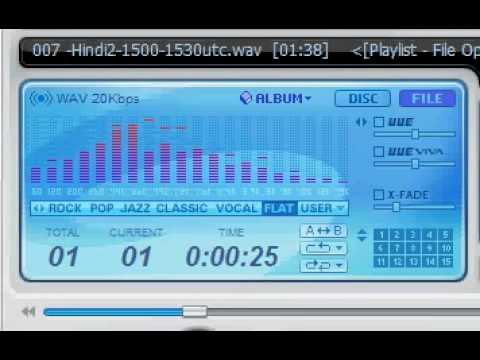 Radio Moscow / Voice of Russia - 12055 kHz (Hindi)