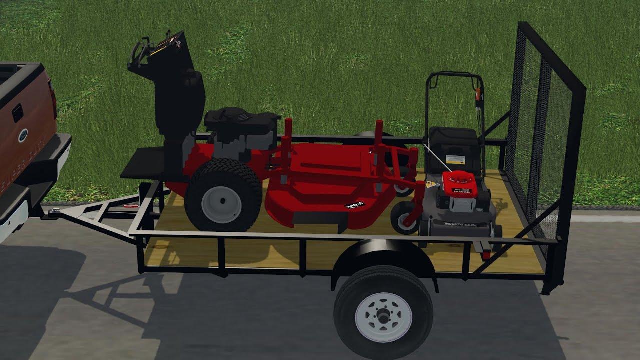 Fs 17 lawn mower trailer related keywords fs 17 lawn for Garden maintenance trailer
