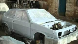 Ваз 2108 Ремонт кузова www.yourtrack.ru(Данное видео рассказывает о ремонте ВАЗ 2108., 2011-03-22T17:15:22.000Z)