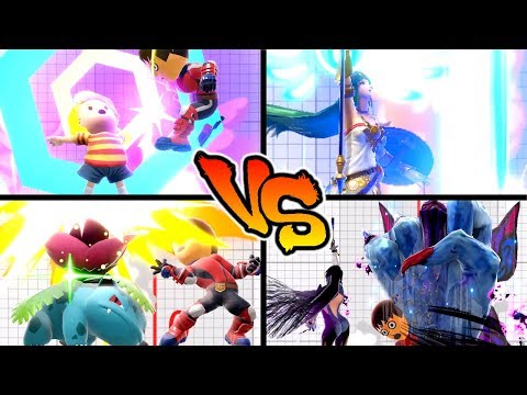 Super Smash Bros. Ultimate - Who has the Strongest Up Smash? thumbnail