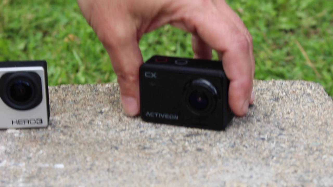 Activeon Cx Camera Review Youtube