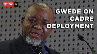 African National Congress chairperson Gwede Mantashe testified at the Zondo commission of inquiry on 14 April 2021 about the role of the ANC in parliamentary oversight.