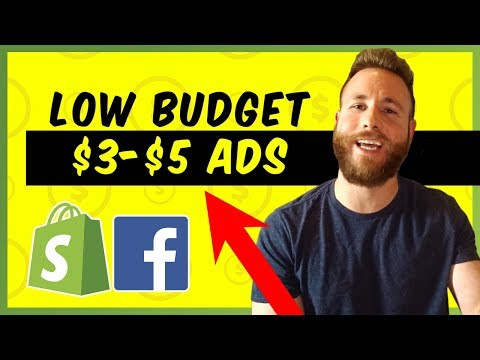 Low Budget Facebook Ad Strategy | Shopify Dropshipping 2019 thumbnail
