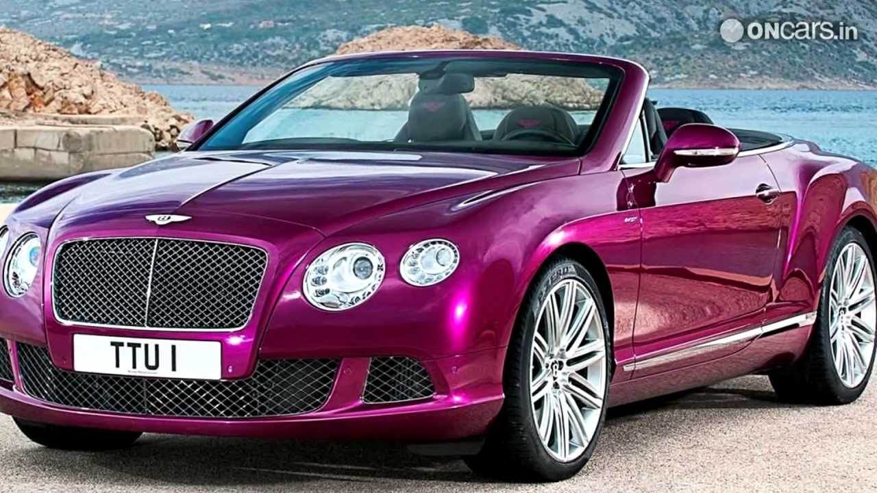 2013 bentley continental gt speed convertible youtube vanachro Images