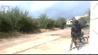 Сирия Боевики ИГИЛ стреляют по Ми 24!!!Новости Сирия