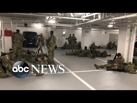Outrage after National Guard troops unexpectedly forced out of the Capitol | WNT - ABC News