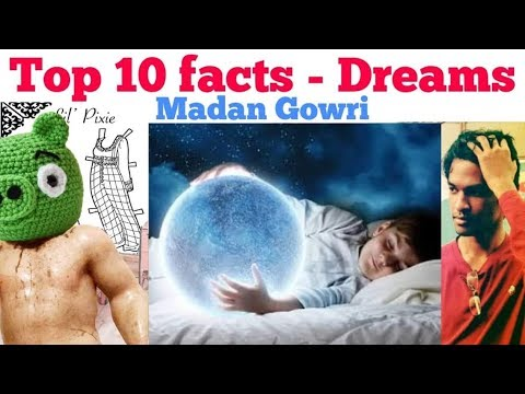 Top 10 Facts about Dreams | Tamil | Madan Gowri | MG