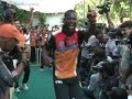 IPL Sunrisers Hyderabad plays friendly match for cancer affected kids