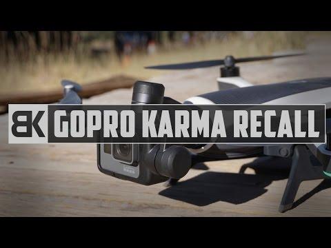 GoPro Karma Recall