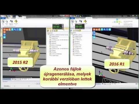 Edgecam 2016 R1 | A Szimulátor előgyártmányfrissítés fejlesztései