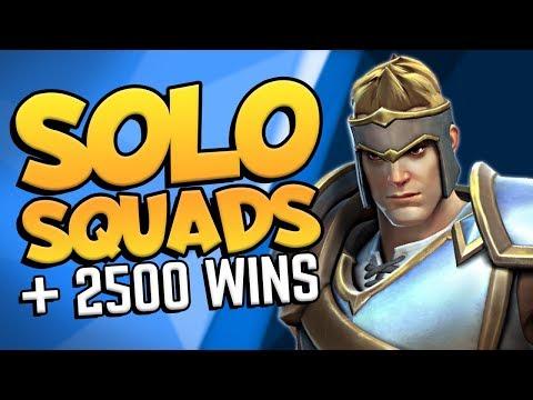 Warrior Solo vs Squads [No Sword] + 2500 WINS in Realm Royale!!