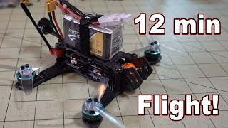 12 Minute Flight!!! (DYS 1404 4300kv Motors) 👍