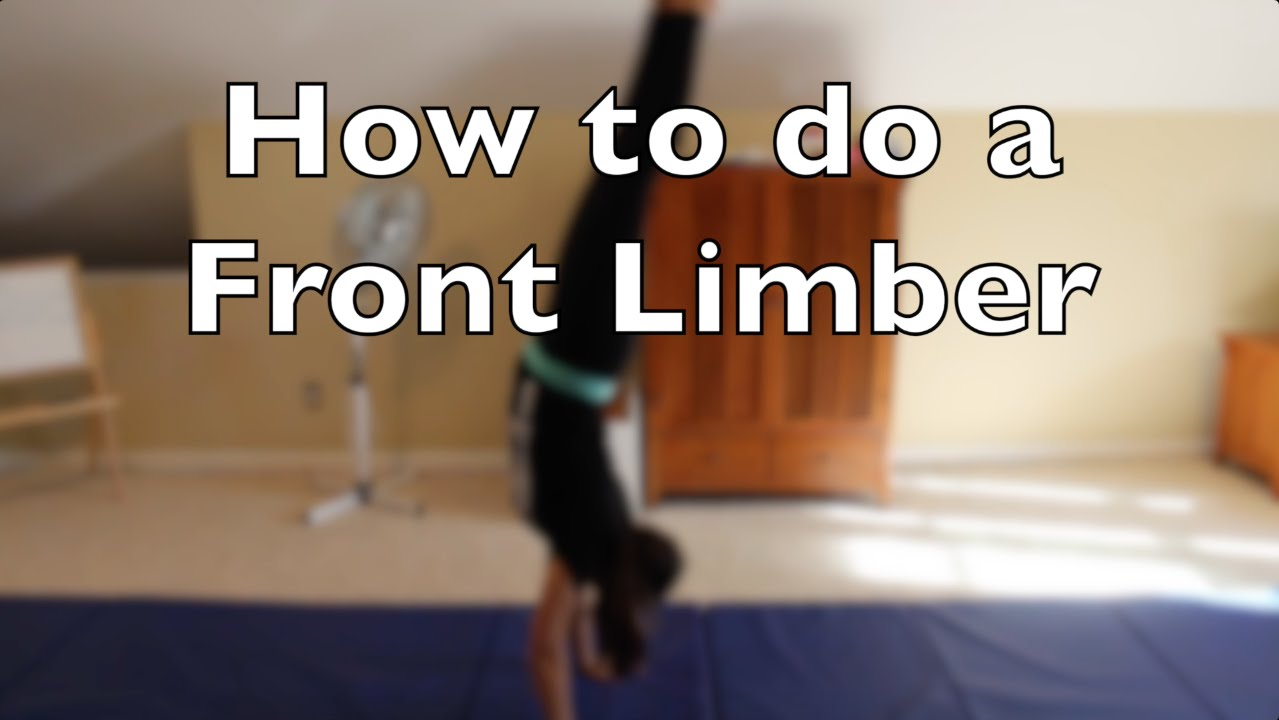 How to Do a Front Limber picture