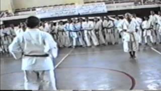 karate wkf - frmk -kentra - maroc-Sensei Kiyoshi Yamazaki -- AZIZ KRIR - kata Rohaï