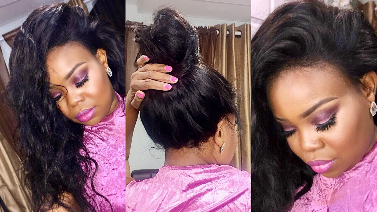 The Best 360 Lace Frontal How To Sew On Your Lace Frontal Sunlight