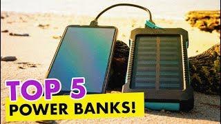TOP 5: Baterias Externas POWER BANKS  2019  |  TECH & GADGET