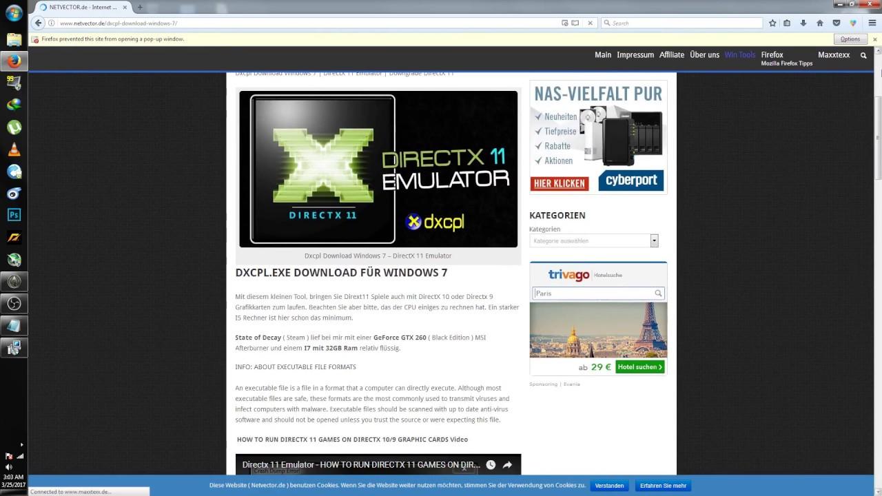 How to run Direct X 11/12 Games on Direct X 10 GPU - YouTube