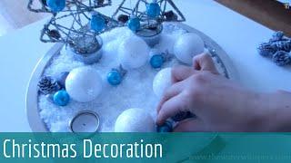 [HD] ASMR Soft Spoken -★- Christmas Plate Decoration Tutorial -★-
