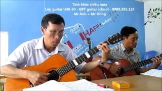 Tinh khúc chiều mưa (Lớp guitar U50)