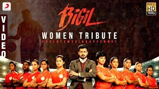 Bigil - Singappenney Video Song (Tamil) | Thalapathy Vijay | Nayanthara | A.R Rahman | Cover Version