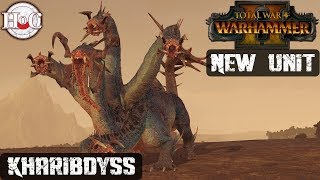Kharibdyss Unit Intro - Total War Warhammer 2